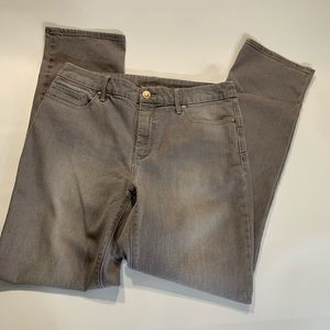 Chico's | Gray Denim Jeans Size 0.5 S/6